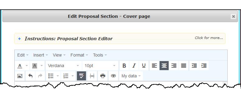 CleanlyRun - Editor Toolbar